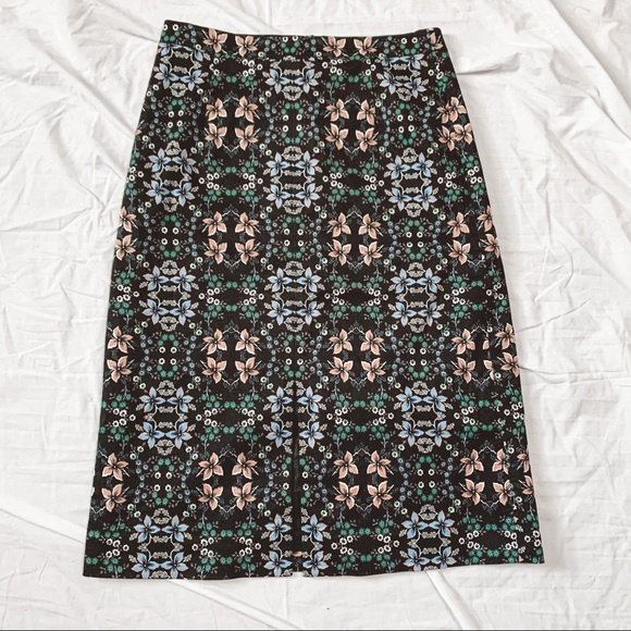 J. Crew Long Pencil Skirt